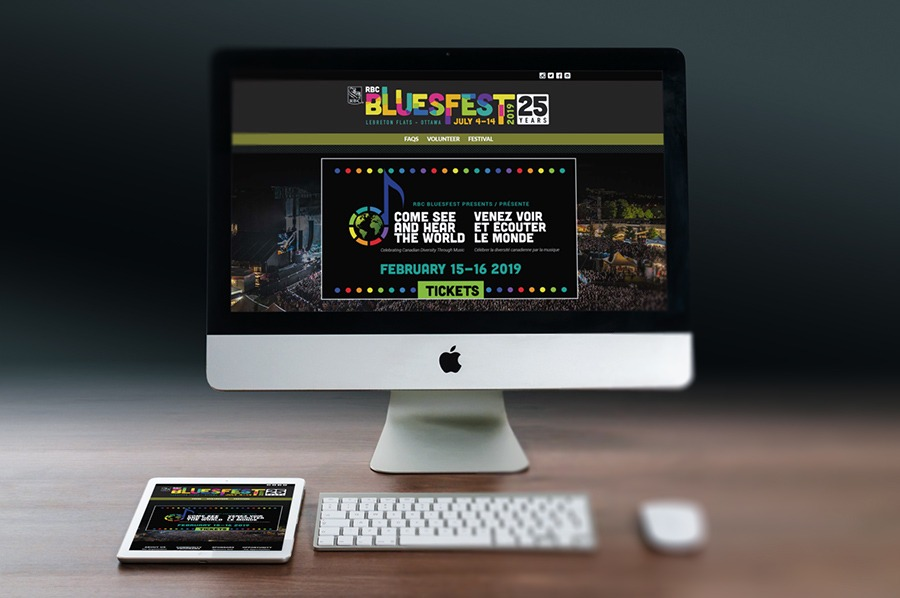 Bluesfest Website