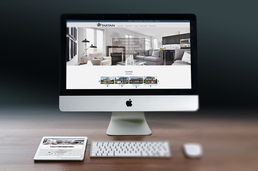 Tartan Homes Website