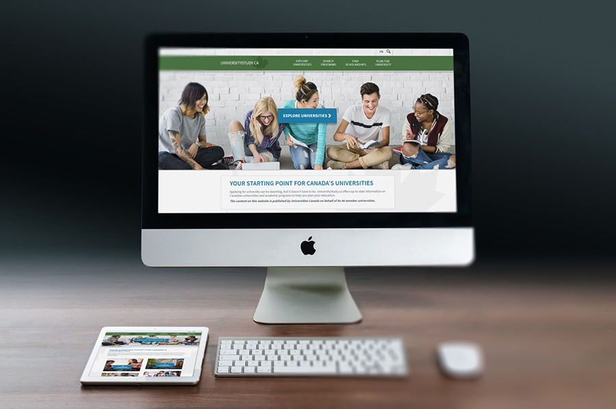 University Study Website